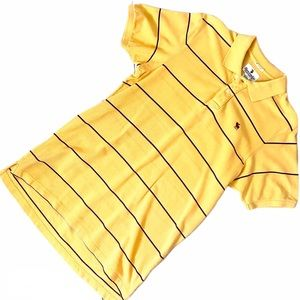 Abercrombie Mens Sz Large Yellow Polo Shirt